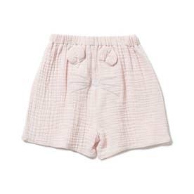 【KIDS】アニマルガーゼ kids ショートパンツ (PNK)