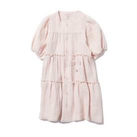 【KIDS】アニマルガーゼ kids ドレス (PNK)