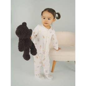 【BABY】モーニングベア baby ロンパース (PNK)