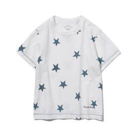 【KIDS】スターモチーフ kids Tシャツ (NVY)
