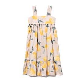 【KIDS】フルーツアロハモチーフ kids ドレス (YEL)