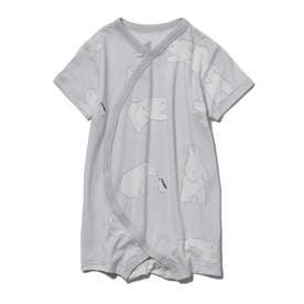 【BABY】【COOL FAIR】シロクマモチーフ baby ロンパース (GRY)