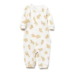 【BABY】 クッキーアニマルモチーフ新生児2wayオール (OWHT)