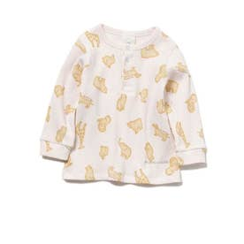 【BABY】 クッキーアニマルモチーフ baby プルオーバー (PNK)