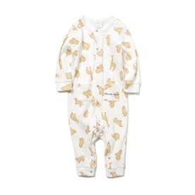 【BABY】 クッキーアニマルモチーフ baby ロンパース (OWHT)