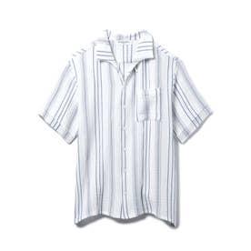 【GELATO PIQUE HOMME】コットンシャツ (OWHT)