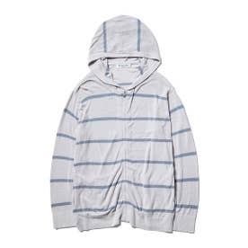 【GELATO PIQUE HOMME】'スムーズィーライト' COOLパーカ (GRY)