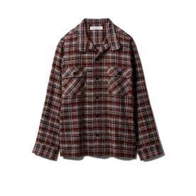 【GELATO PIQUE HOMME】チェックシャツ (BRW)