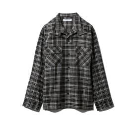 【GELATO PIQUE HOMME】チェックシャツ (GRN)