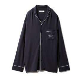 【GELATO PIQUE HOMME】レーヨンインレイシャツ (NVY)