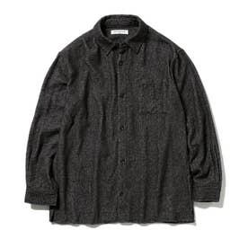 【GELATO PIQUE HOMME】ガーゼパイルシャツ (DGRY)
