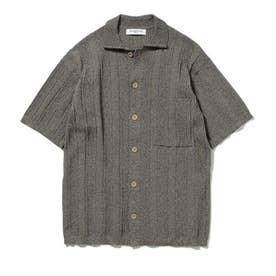 【GELATO PIQUE HOMME】リブメランジモコシャツ (BRW)