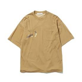 【GELATO PIQUE HOMME】ワンポイントTシャツ (OLV)