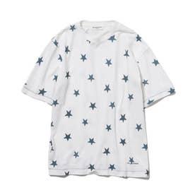 【GELATO PIQUE HOMME】スターモチーフTシャツ (NVY)