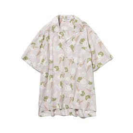 【GELATO PIQUE HOMME】アイスモチーフシャツ (GRY)