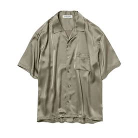 【GELATO PIQUE HOMME】ソアロンサテンシャツ (KKI)