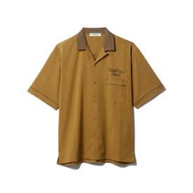 【GELATO PIQUE HOMME】 ボーリングシャツ (BRW)