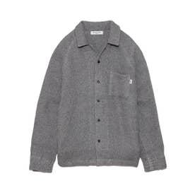 【GELATO PIQUE HOMME】 タオルパジャマシャツ (GRY)