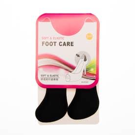 3D かかとクッション 靴ずれ 立体構造 パカパカ 防止 保護 パッド シール パンプス ヒール ぴったり フィット クッション (ブラック)
