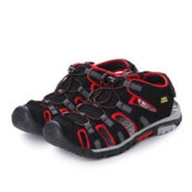 紳士スポーツサンダル (BLACK/RED)