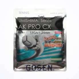 硬式テニス ストリング ウミシマ AKプロ CX 17 TS761