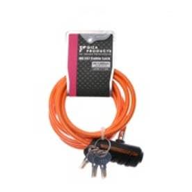 キー WL147 ケーブルロック 6x1800mm コイルケーブル ORG LKW17104   オレンジ (オレンジ)