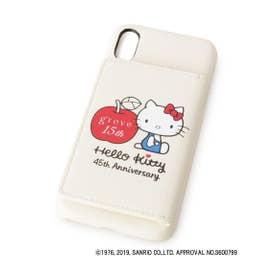 ハローキティ45th iphoneケース (アイボリー)