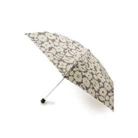 Wpc.フラワー&バードミニ折り畳み傘 (チャコールグレー)