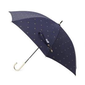 Wpc.遮光ゴールドプチハートパラソル(長傘・晴雨兼用) (ネイビー)