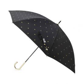 Wpc.遮光ゴールドプチハートパラソル(長傘・晴雨兼用) (ブラック)