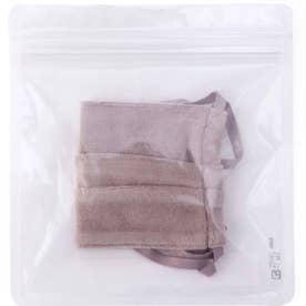 ベロアリボンファッションマスク (ナチュラル)【返品不可商品】