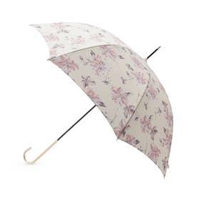 フローラル長傘(晴雨兼用) (オフホワイト)
