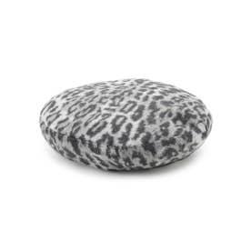 レオパードベレー帽 (グレー(712))