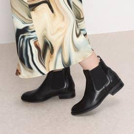 【MARCO】サイドゴアショーツブーツ (ブラック)