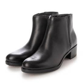 【MARCO】サイドゴアジッブアップショートブーツ (ブラック)