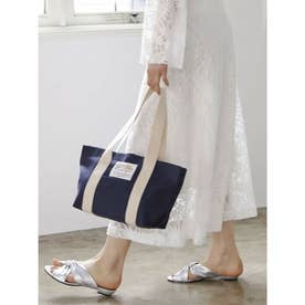 【BED&BREAKFAST】Sail Cloth Bag 中 (NAVY)