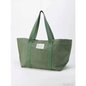 【BED&BREAKFAST】Sail Cloth Bag Large (KHAKI×KHAKI)