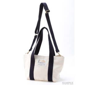 【BED&BREAKFAST】Sail Cloth Shoulder Bag Medium (OFF WHITE)