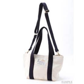 【BED&BREAKFAST】Sail Cloth Shoulder Bag Medium (OFF WHITE)
