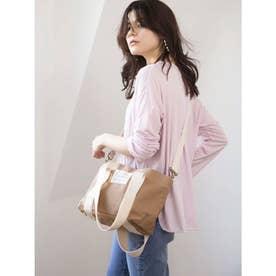 【BED&BREAKFAST】Sail Cloth Shoulder Bag Medium (BEIGE)