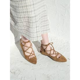[BED&BREAKFAST]Lace Up サンダル (BROWN)