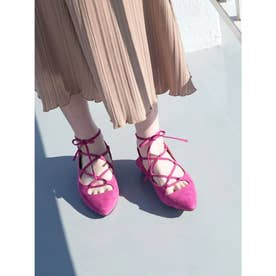 [BED&BREAKFAST]Lace Up サンダル (PINK)