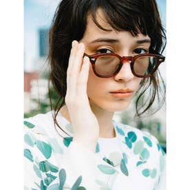 [BED&BREAKFAST]JULIUS TART OPTICAL×B&B Sunglasses (A&G) (AMBERFrame GREENLens)