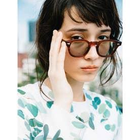 [BED&BREAKFAST]JULIUS TART OPTICAL×B&B Sunglasses (A&G) (AMBERFrame GREENLens)