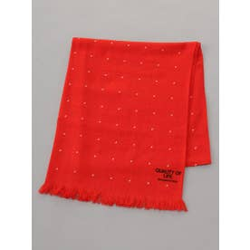 【BED&BREAKFAST】Triangle Stole (RED)