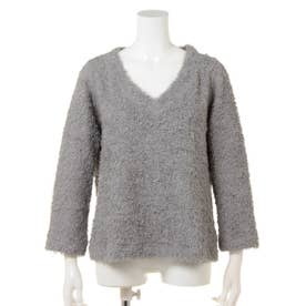【BED&BREAKFAST】Standard Ultra Soft Cotton V?neck Tops (GRAY)