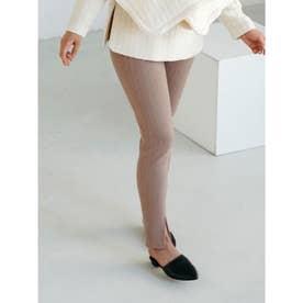 [GREED]Super120s Wool Stripe Jacquard スリムパンツ (BEIGE)