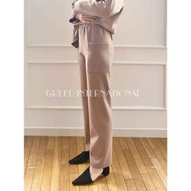 [GREED]Super140s Wool Milled Melton パンツ (BEIGE)