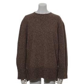 [BED&BREAKFAST]Silk Nep Wool 長袖セーター (BROWN)