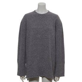 [BED&BREAKFAST]Silk Nep Wool 長袖セーター (PURPLE)